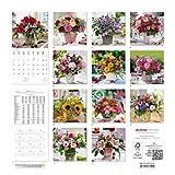 Image de Blumen 2016 - Flowers - Broschürenkalender (30 x 60 geöffnet) - Wandplaner