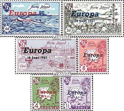 regno-unito-herm-islanda-1961a-1961f-completaproblema-1961-europa-francobolli-