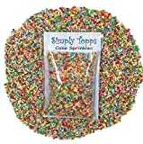 Vibrant 100s & 1000s Mini Sugar Balls 30g (approx 1mm diameter) for cake or cupcake decorations