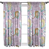 Disney Cortinas infantiles Character World con estampado de Frozen (182 cm)