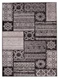 Carpeto Rugs Tapis Salon Taupe 120 x 170 cm Oriental/Nebraska Collection