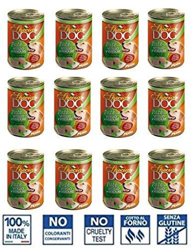 Monge Special Dog Pate '12piezas de 400gr Carne Becerro/verduras Perros Adultos