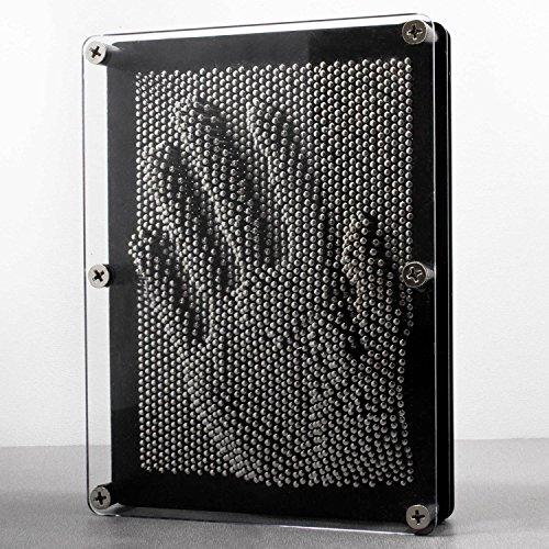 Goods & Gadgets 3D Nagelbild Pinart Bild Pinpressions Skulptur Retro Spielzeug mit Metallnägeln 20 x 15 cm