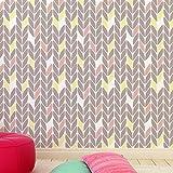 Herringbone mini dekorative Wandschablone - Schablonen für wände - Maler Schablonen