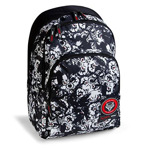 mochila escolar doble BESTIAL WOLF