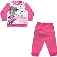 WD101127 pigiama neonata lungo in cotone jersey MINNIE disney art