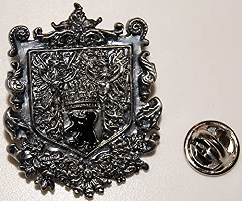 Province of Berlin Bear Eagle Crown Coat of Arms Prussia L badge L Insignia L Pin 263