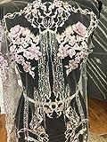 BH006Dusty Pink Lace Floral Braut/Hochzeit Kleid