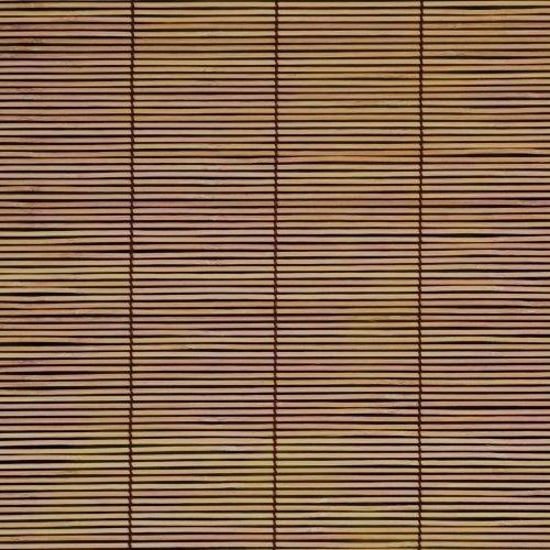 Persiana de bambú para ventana con tracción lateral - árbol de cereza, 80cm x 160cm