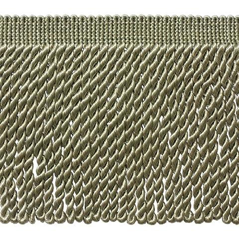 4,6m Value Pack–15,2cm de long Seacrest Green Bullion Fringe Trim, Basic Trim Collection, couleur: G15(4,6m/4.5metres)