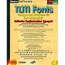 Elftausendeinhundertelf (11 111) Fonts. CD- ROM für Windows 3.1x/95