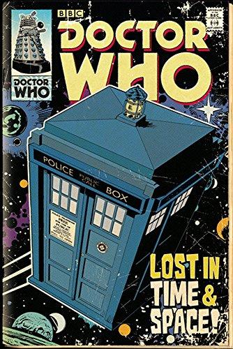 """Empire Interactive - Poster, motivo: """"Doctor Who / Tardis"""", accessori inclusi multicolore"""