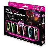 Paint Glow UV Glitter Face & Body Gel Kit