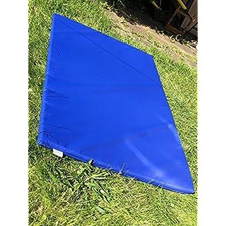 ABM SOFTPLAY Soft Play Multi-Use Exercise Fitness Safety Landing crash Mats - 610gsm PVC/High Density Foam - Blue - Green - Red - Yellow - 180cm x 90cm x 5cm