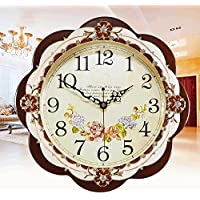KHSKX Europea antica regina muto orologi salone