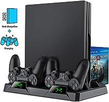 Playstation 4 Slim PS4 Pro Fanlı Stand Oyun Kolu USB Şarj Dock