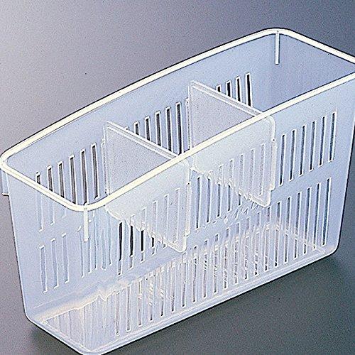 Techsun Mart Fruit Vegetables Storage Basket Organizer Storage Box Refrigerator Plastic Storage Containers Tray