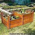 Gärtner Pötschke Hochbeet Extra Tief aus Akazienholz von Gärtner Pötschke - Du und dein Garten