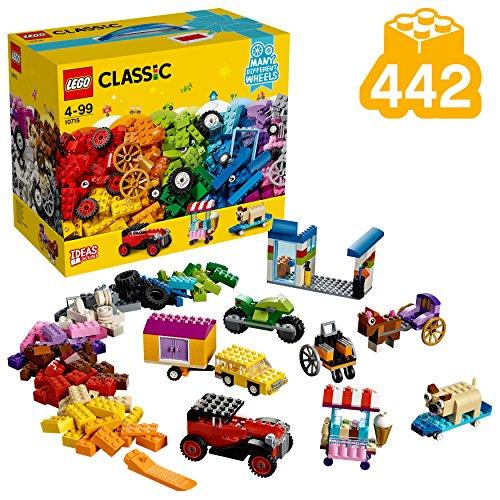 LEGO Classic 10715 - Kreativ-Bauset Fahrzeuge, Spielzeug (Räder Lego)
