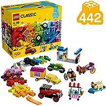 LEGO Classic Bricks on a Roll Building Blocks for Kids (442 pcs) 10715 (Multi Color)