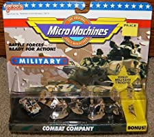 Micro Machines Combat Company #11 Military Collection by Galoob MicroMachines