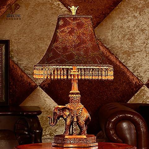 Lámparas Retro dormitorio cama lámparas como la cabeza de la cama en la sala de iluminación lámparas tailandés auspicioso , como se muestra en el color de la luz (no incluido) , el interruptor atenuador