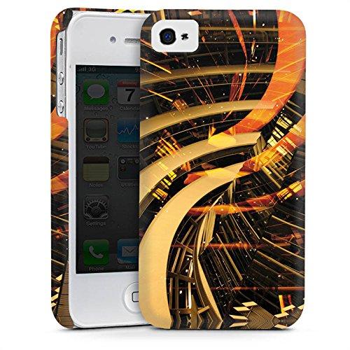 Apple iPhone 6 Housse Étui Silicone Coque Protection Berlin lumières Collage Photographie Cas Premium mat