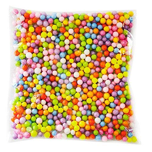Leisial produzione di materiali creativi diy a colore schiuma particelle polyflor dragon ball riempimento decorativo delle particelle (colore)