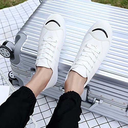 HUAN Scarpe di tela Scarpe di tela da uomo Scarpe casual Scarpe da ginnastica traspiranti da ginnastica allaperto Scarpe da ponte con lacci C