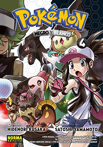 Pokemon 29. Negro y Blanco 4 por From Norma Editorial