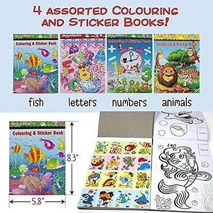 24 Mini Libro De Colorear Et Pegatinas Actividad De Arte Infantil Cumpleaños Favor Del Partido Piñata Materiales Educativos Y Premios Llenadoras