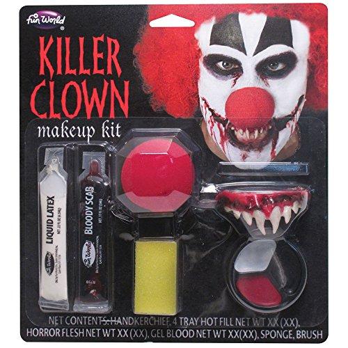 Killer Clown Make-up Kit