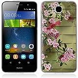 Funda Huawei Enjoy 5, Funda Huawei Y6 Pro - Fubaoda - 3D Realzar, Lujo Patrón, Gel de Silicona TPU, Fina, Flexible, Resistente a los arañazos en su parte trasera, Amortigua los golpes, funda protectora anti-golpes para Huawei Enjoy 5 / Y6 Pro