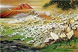 Hundred crane Figure RS-11-276 1000 piece sacred mountain (japan import)