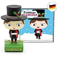 tonies Hörfiguren für Toniebox - 5 Lieblings-Klassiker - Eine Weihnachtsgeschichte und Vier weitere Klassiker - ca. 70…