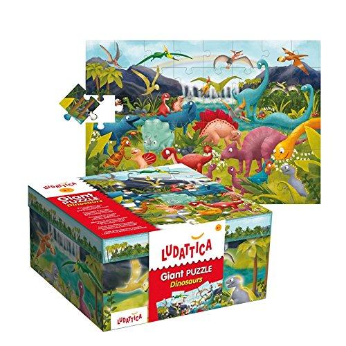 Piatnik 51373 - Bodenpuzzle Dinoland 48T