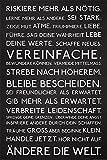 Empireposter - Motivational - Riskiere mehr - Größe (cm), ca. 61x91,5 - Poster