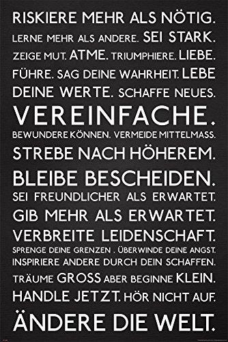 empireposter - Motivational - Riskiere mehr - Größe (cm), ca. 61x91,5 - Poster, NEU -
