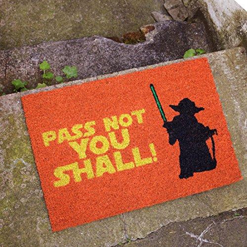 getDigital Fußmatte Pass Not You Shall