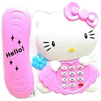 TryoKart Kitty Landline Toy Phone - LED Light Flashing -Good Gifting Item A