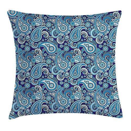Euro-square-kissen (Wdskbg Sugar Skull Flower Daisy Pattern Decorative Throw Kissencase Cushion Kissen Cover 18