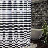 LFF- PEVA-Badezimmer-Mehltau-Wasserdichter Vorhang umweltfreundliches Badezimmer-Starkes Warmes Isolierung-Trennvorhang (Größe : 120X180cm)