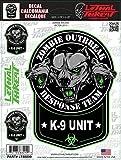 Lethal Threat Motorrad Roller Quad Auto Board Aufkleber Sticker LT88099