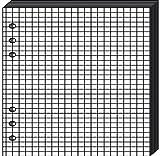 QUO VADIS Recharge Accessoires Organiseur BLOC-NOTES Timer 21 Blanc 15 x 21 cm