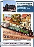 Aue Verlag 66x 7x 8cm Württembergische T3Dampflok Model Kit