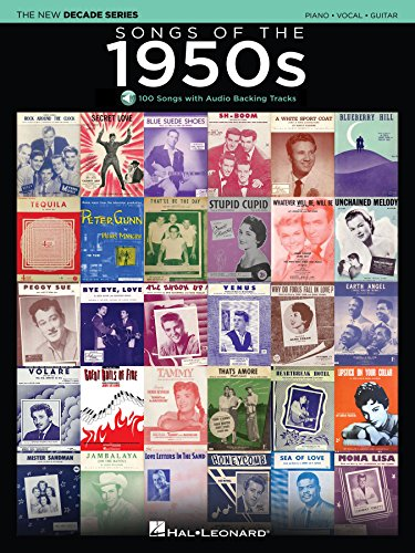 songs-of-the-1950s-songbook-the-new-decade-series-with-play-along-backing-tracks