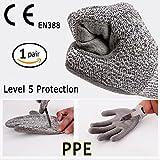 Schnittfest Handschuhe Full Größen–CE EN388zertifiziert