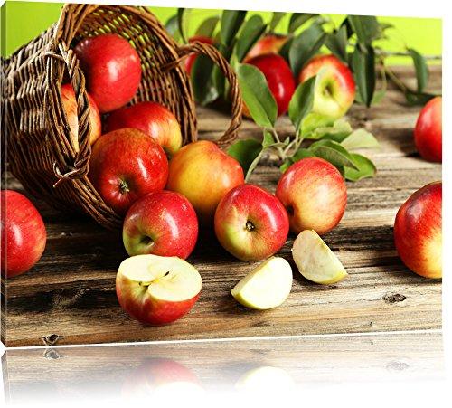 mela-mele-frutta-cesti-mele-sugli-alberi-pittura-su-tela-immagini-xxl-completamente-incorniciati-con