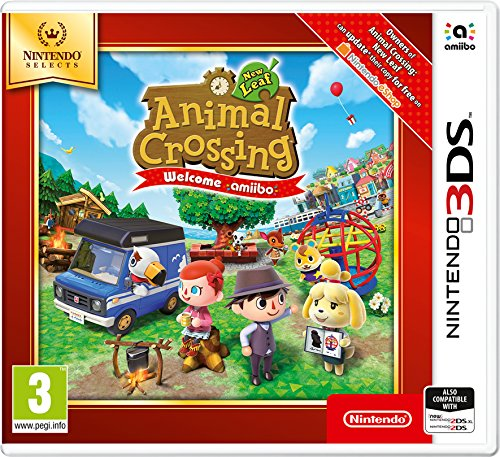 Animal Crossing New Leaf Welcome Amiibo 3DS Game (Selects) (Animal 3ds Crossing)
