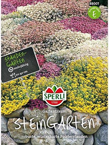 Steingarten Stauden, Mehrjährige Blumenmischung